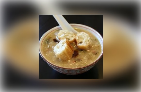Pork and Century Egg Rice Congee
