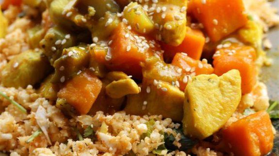 Healthy Turmeric Chicken Stew